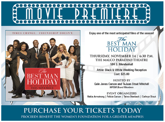 The Best Man Holiday - Movie Premiere Ticket Orders